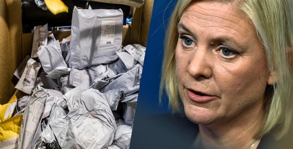 Breakit - Finansminister Magdalena Andersson ryter ifrån om Kinapaket