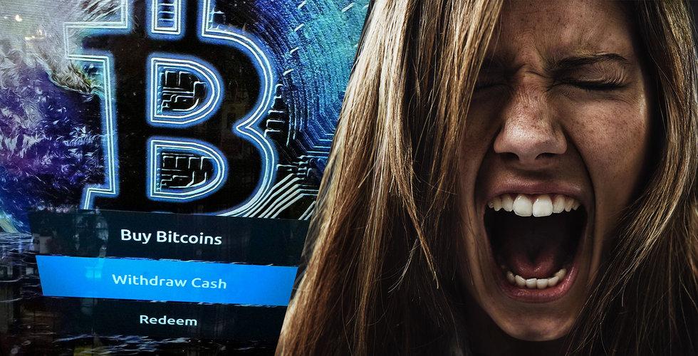 Blodig dag för krypto – drog med sig svenska bolag i fallet