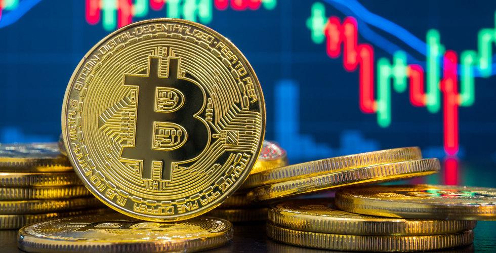Bitcoin faller under 4000 dollar