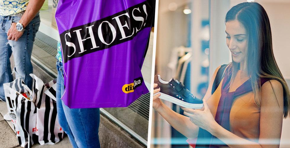 Breakit - E-handeln fortsätter pressa butikerna – skohandeln brant ner