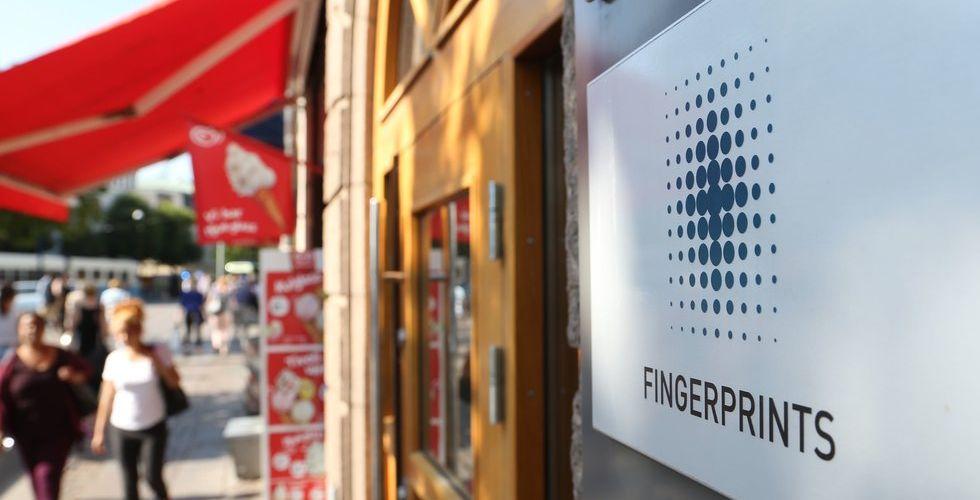 Breakit - Fingerprints kunder bygger lager - hotar techbolagets framfart