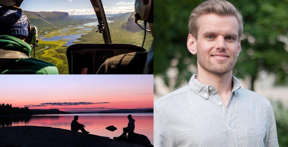 Moritz Witter tröttnade på kassa resesajter – drog igång sajt för äventyrsturism