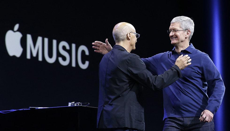Nu har Apple Music 10 miljoner användare - halvvägs till Spotify