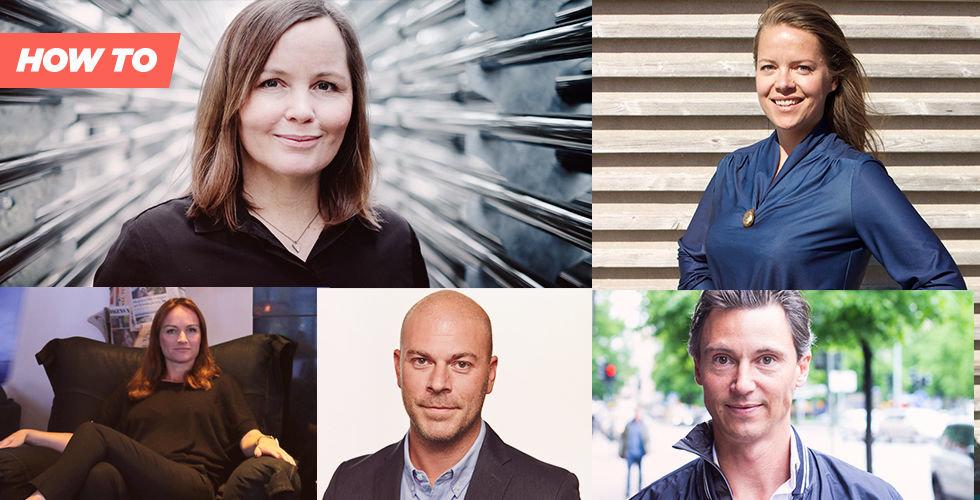 5 erfarna startup-grundare: Här är misstagen vi lärde oss mest av
