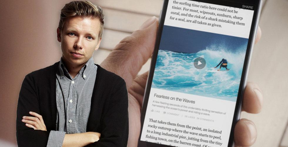 Breakit - Svenska medier överger Instant Articles – bara KIT fortsätter att gasa på