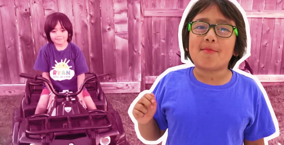 Ryan Kaji tjänar mest av alla på Youtube