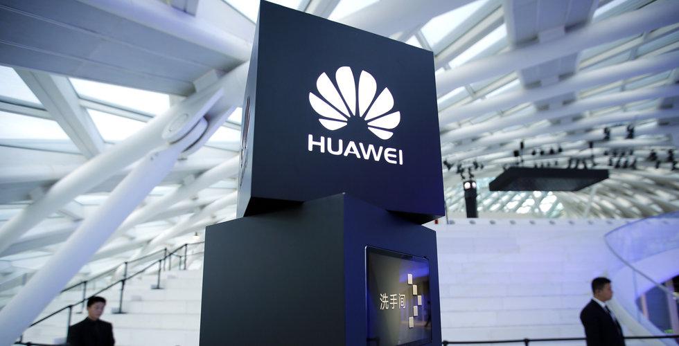 Huawei ser över planer om att bli störst inom smartphones