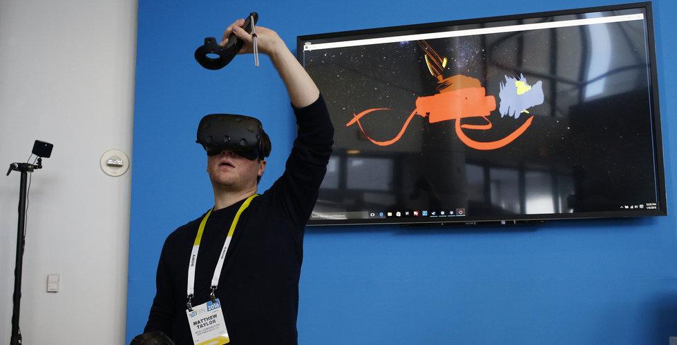 Priskrig på VR-headset – Vive blir 1600 kronor billigare