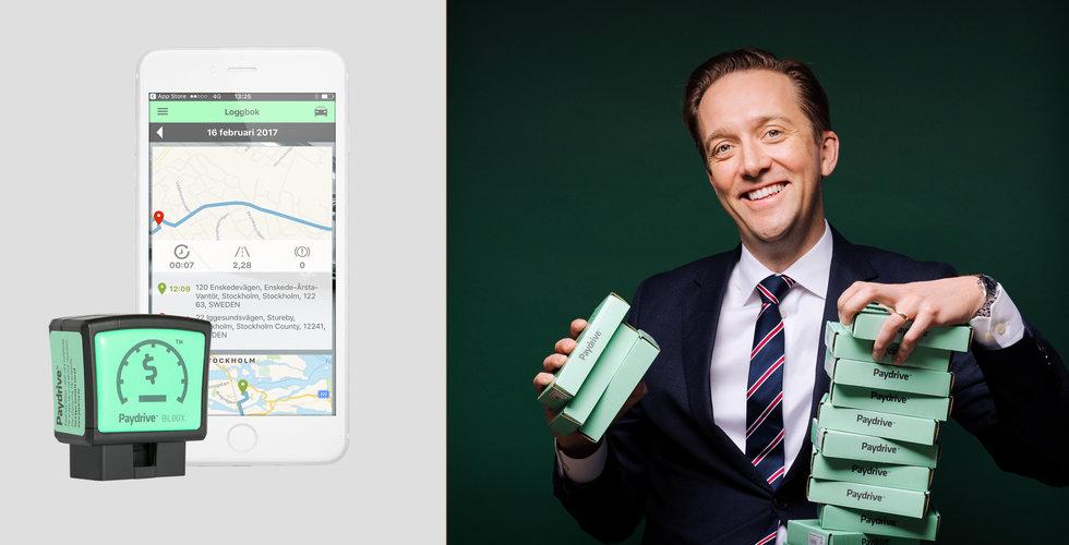 Paydrive tar in 16 miljoner kronor – för att låta dig köra dig till billigare bilförsäkring