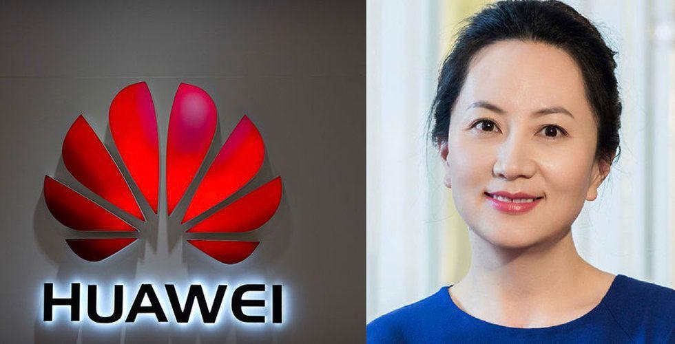 Huaweis finanschef Wanzhou Meng gripen i Kanada