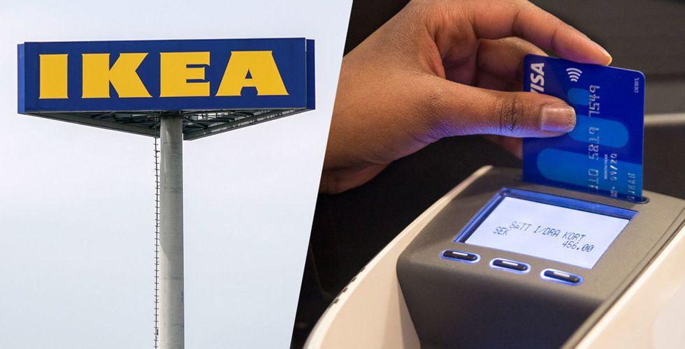 Ikea lanserar eget kreditkort – ska ge extra rabatter