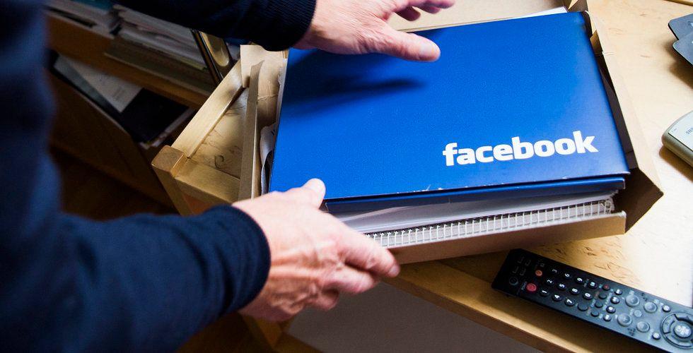 Nordea nobbar investeringar i Facebook