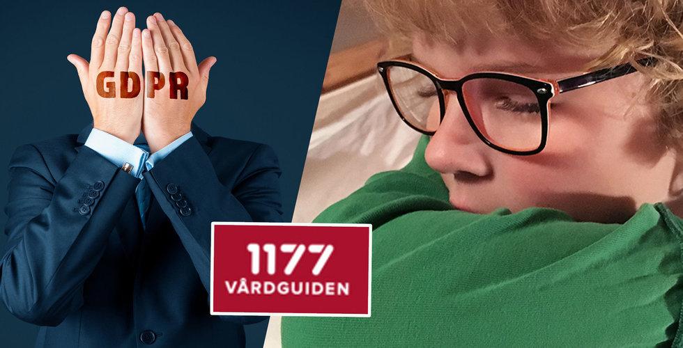 Efter historiska vårdläckan hos 1177 Vårdguiden – GDPR-klagomålen strömmar in