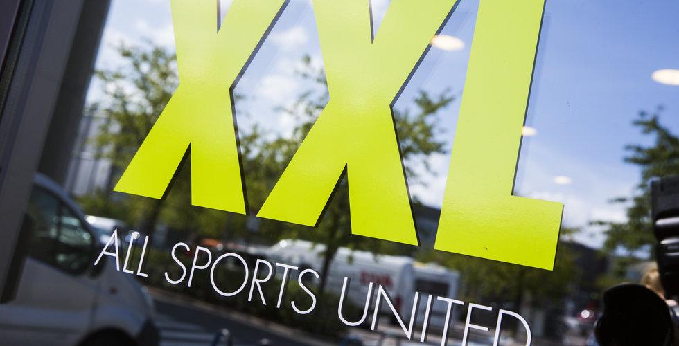 XXL har sett en tvåsiffrig minskning i försäljningen de senaste dagarna