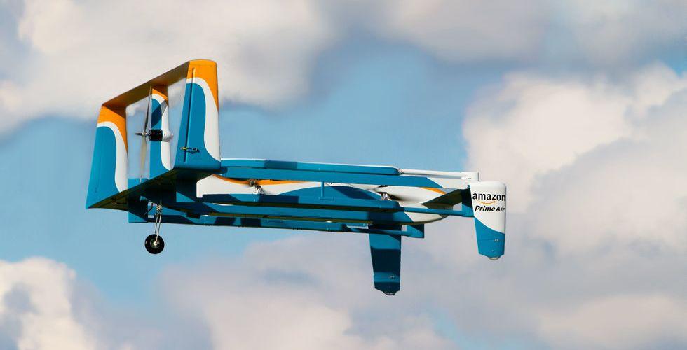 Grönt ljus för Amazons drönare – får nu flyga utan uppsikt