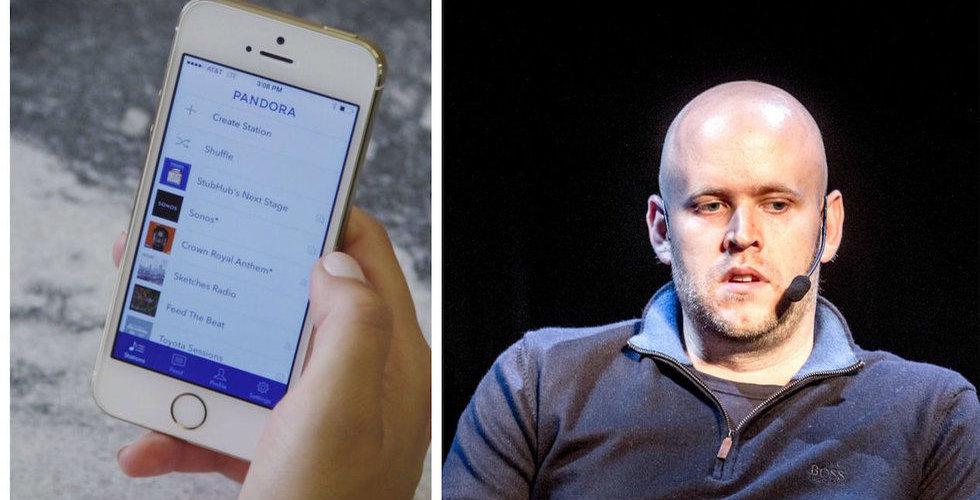 Breakit - Spotifykonkurrenten Pandora uppvisar starka abonnemangssiffror