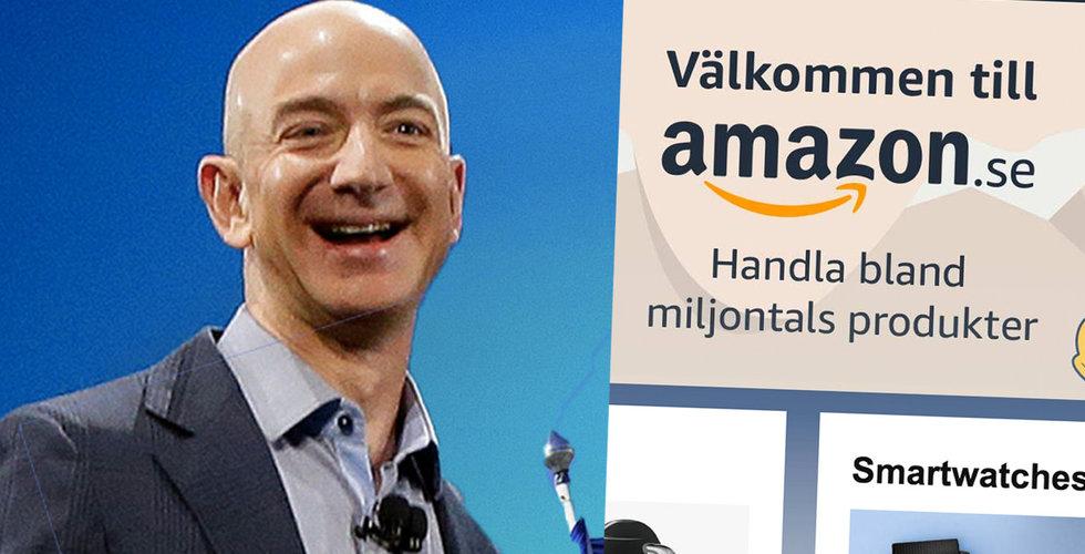 Amazon i rekryteringsoffensiv - ska ta in 75 000 personer