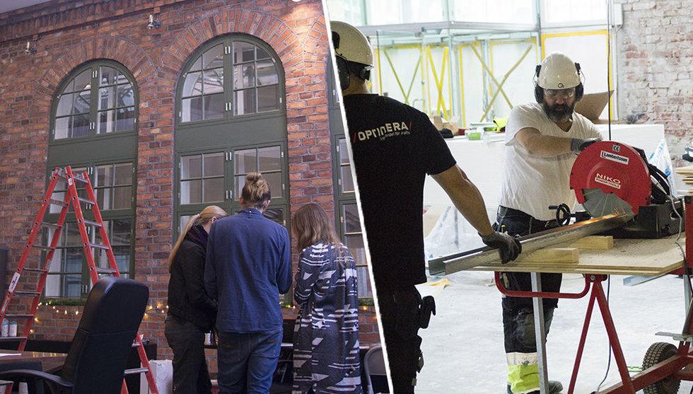 Här börjar Klarna-Niklas nya hus för välgörenhetstech ta form