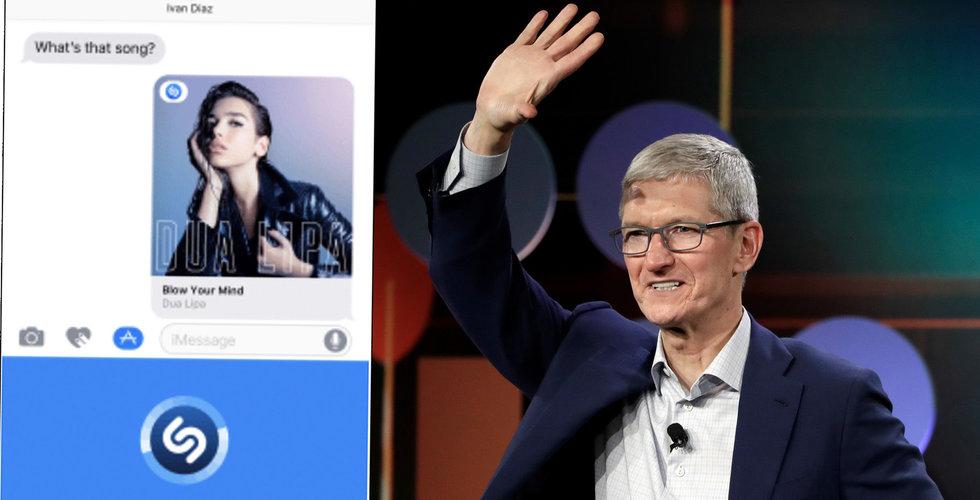 Apple har slutfört köp av musikappen Shazam