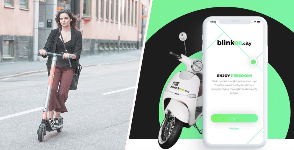 Voi utmanas av polska elscooter-tjänsten Blinkee City