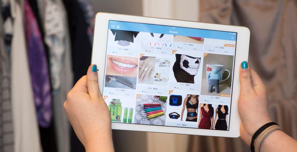"""Klädförsäljningen i Sverige ökar: """"E-handelstillväxt"""""""