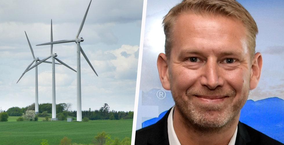 Danska vindkraftsjätten satsar 100 miljoner i Northvolt