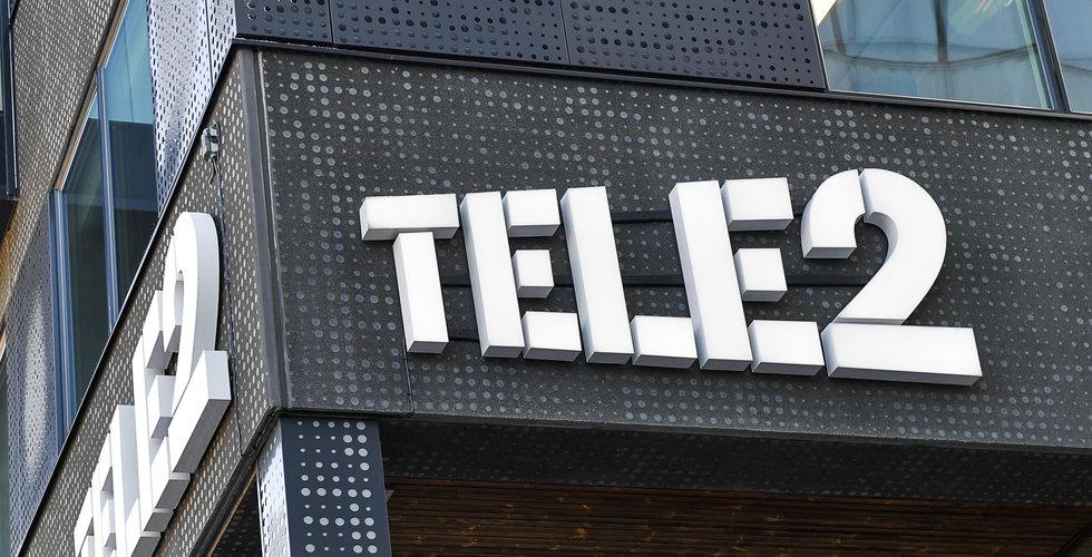Tele2 redovisar lägre än väntat justerat rörelseresultat i fjärde kvartalet