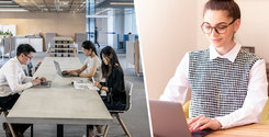 En tredjedel av kontorsanställda villiga att sänka lönen för att jobba på distans