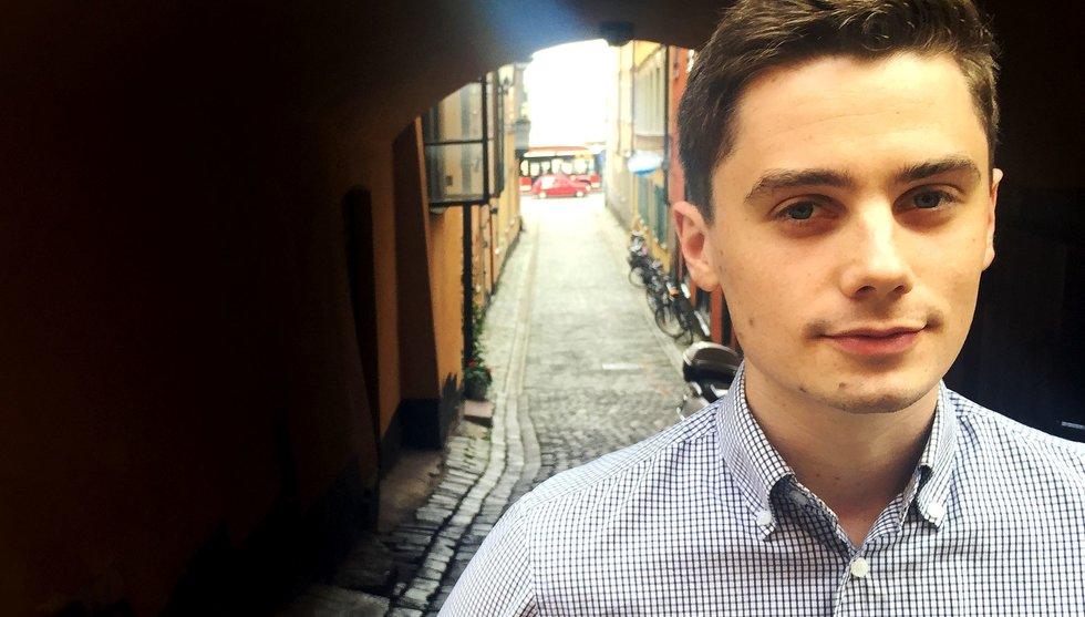 Hjalmar Nilsonne vill förändra världen med sitt Watty – och med data