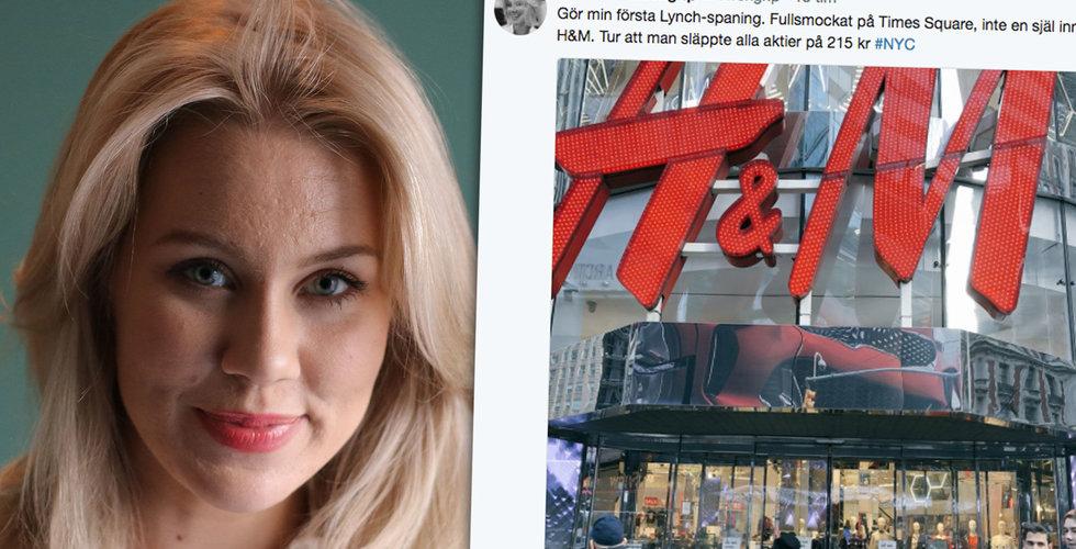 """Löwengrip dumpar H&M: """"Tur att man släppte alla aktier"""""""