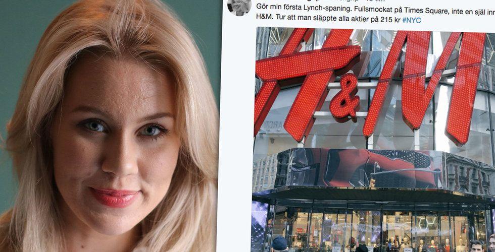 """Breakit - Löwengrip dumpar H&M: """"Tur att man släppte alla aktier"""""""