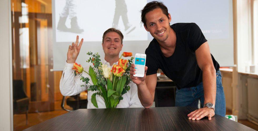 Fotbollsspelaren Philip Haglunds app lär barn att hantera pengar