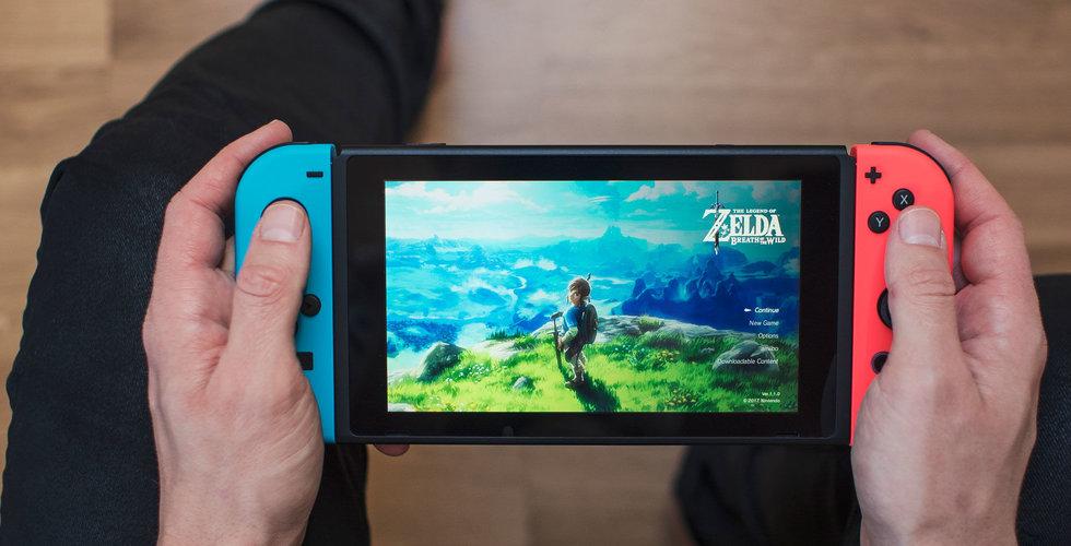 Nintendo förbereder för ökad produktion av Switch under nästa år