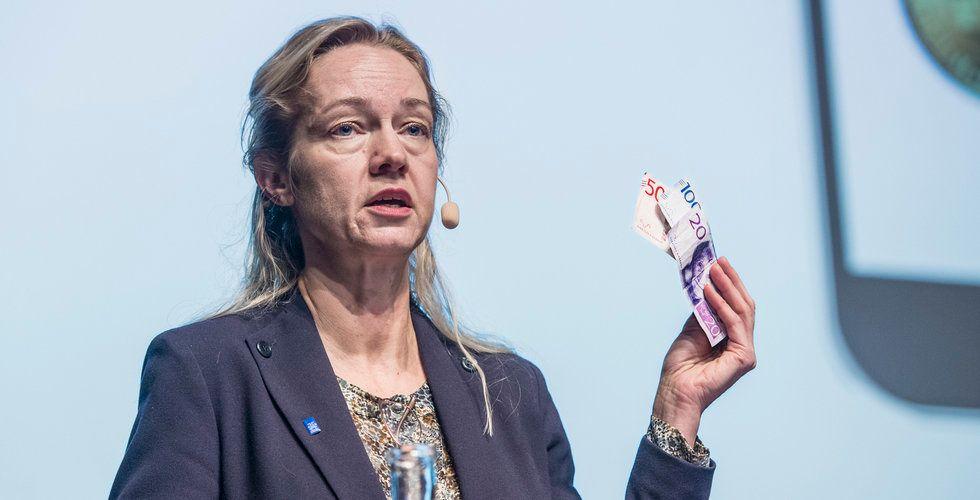 Riksbanken varnar för bluffsamtal om e-kronan