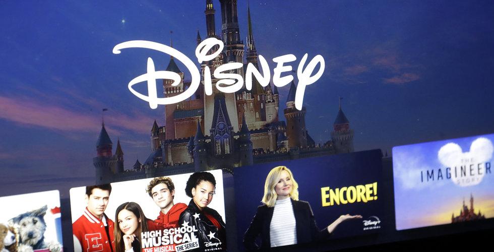 Disney+ lanseras i Sverige först i september