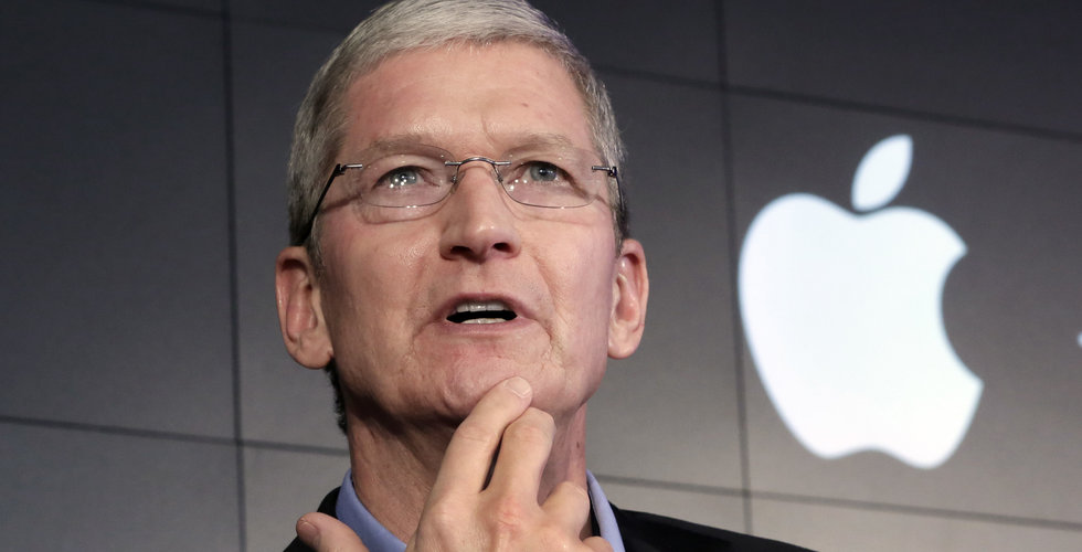 Apple minskar nyanställningar efter svag försäljning