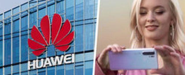 """Huawei går under utan amerikansk teknik"""