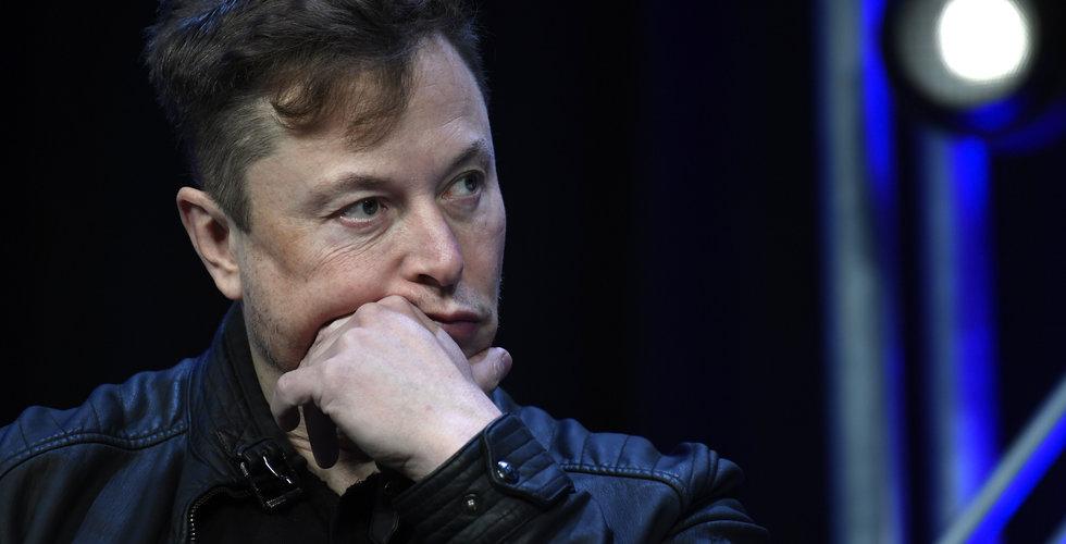 Bitcoin faller rejält – efter Elon Musks kommentar på Twitter