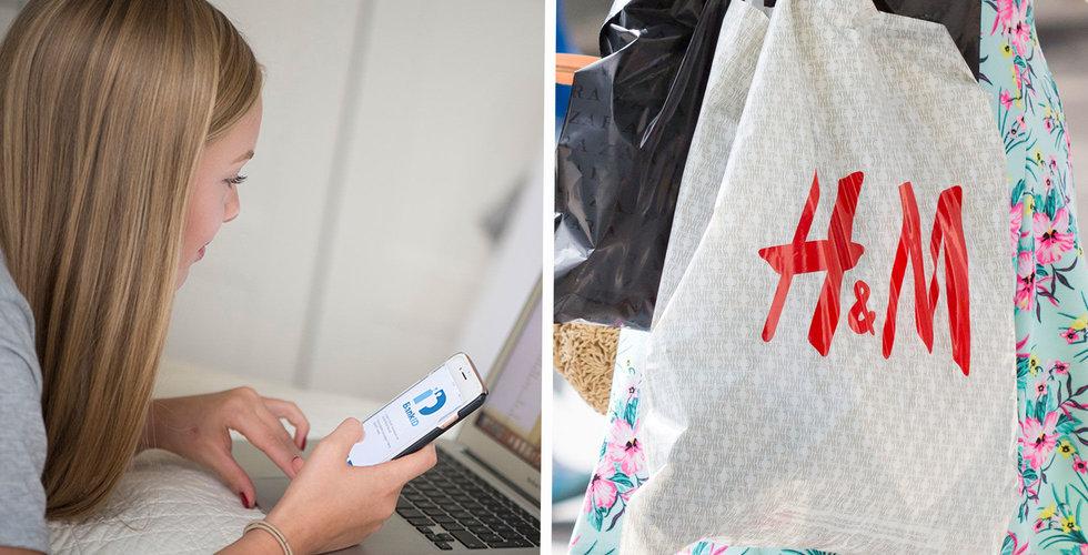 H&M inför beloppsgräns för fri frakt