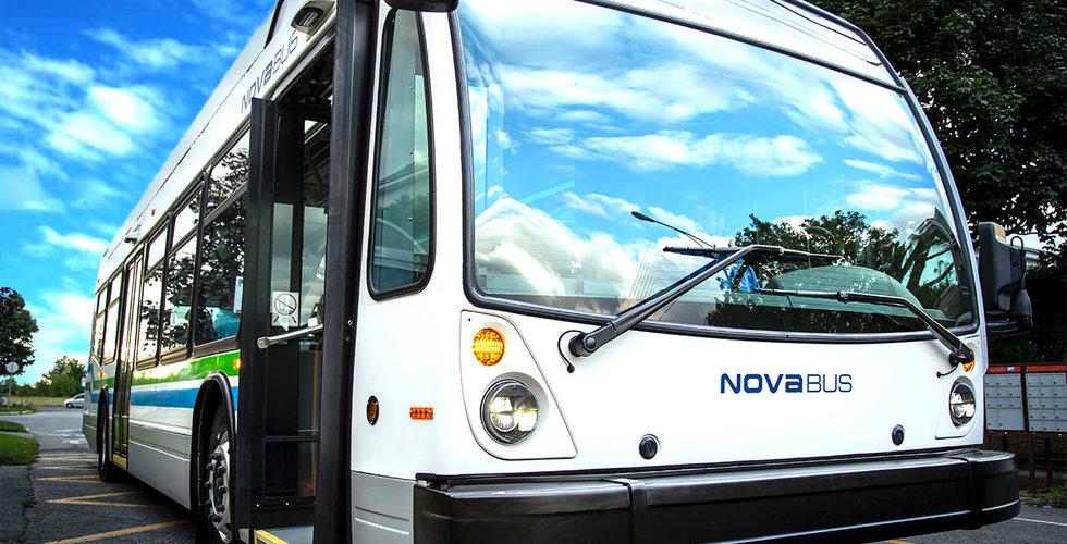 Volvo får jätteorder på elhybridbussar