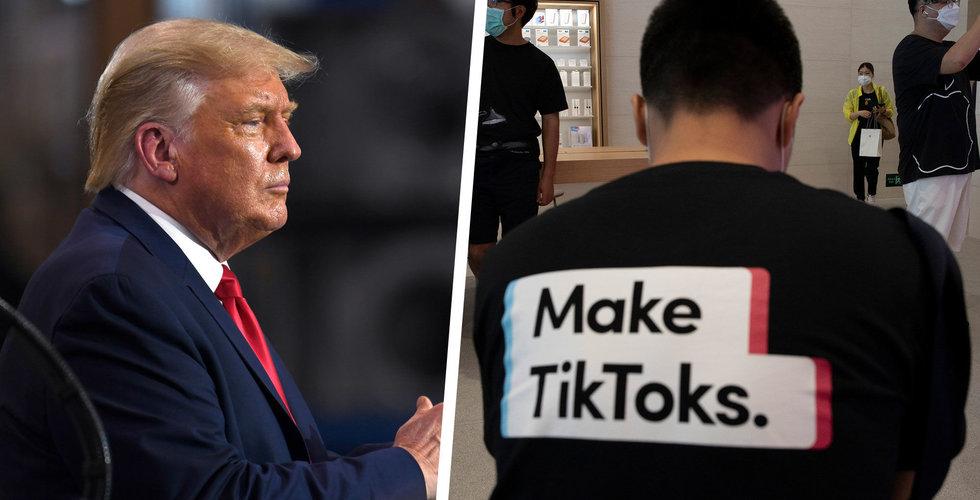 TikTok hotar att stämma Trump-administrationen efter presidentordern