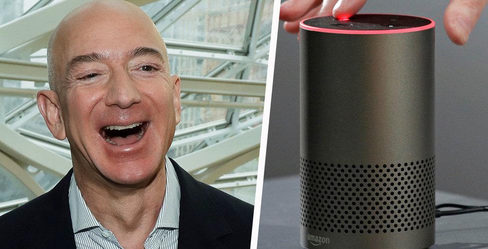 Amazon har sålt över 100 miljoner Alexa-enheter