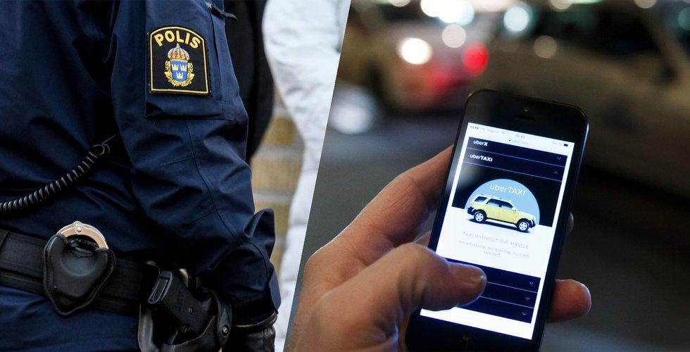 """Breakit - Så kartlade Uber poliser här i Sverige: """"Vi blev avstängda"""""""