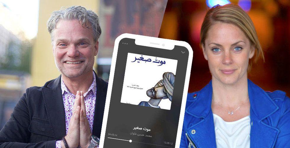 Spotifys första investerare backar Kitab Sawti – ljudböcker på arabiska