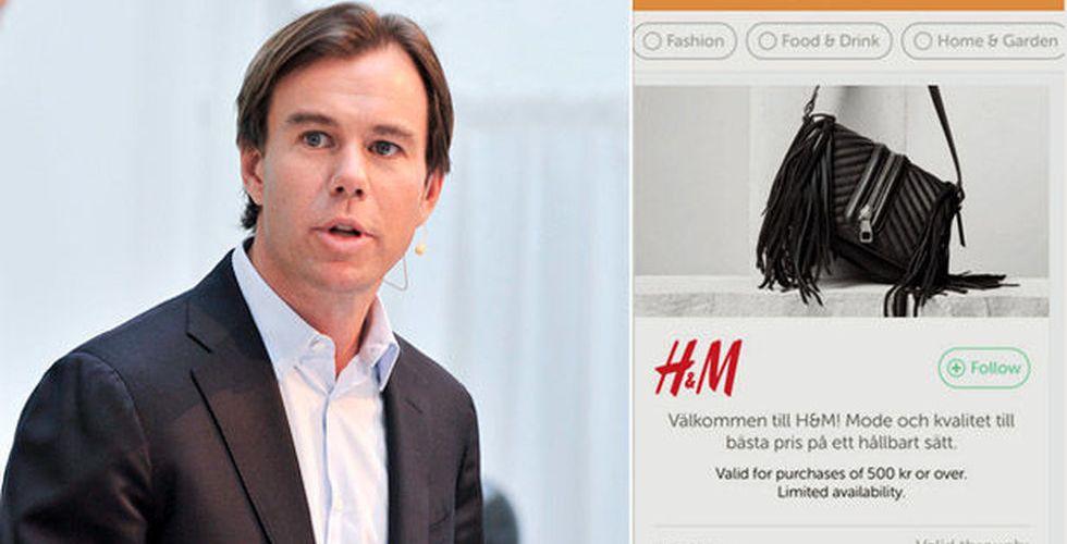 Breakit - Efter oväntade investeringen - nu pushar H&M erbjudanden i Wrapp