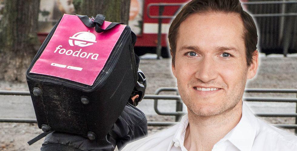 Niklas Östberg ökade ersättningen med 13.000 procent – Foodora-svenskens galna ersättning