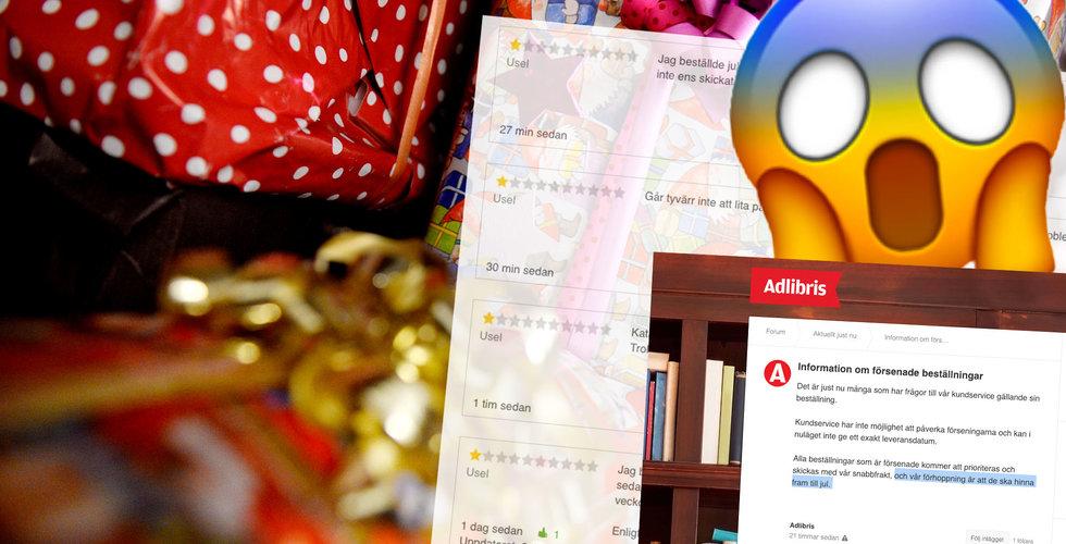 Efter julkaoset – nu rasar anmälningarna in mot Adlibris