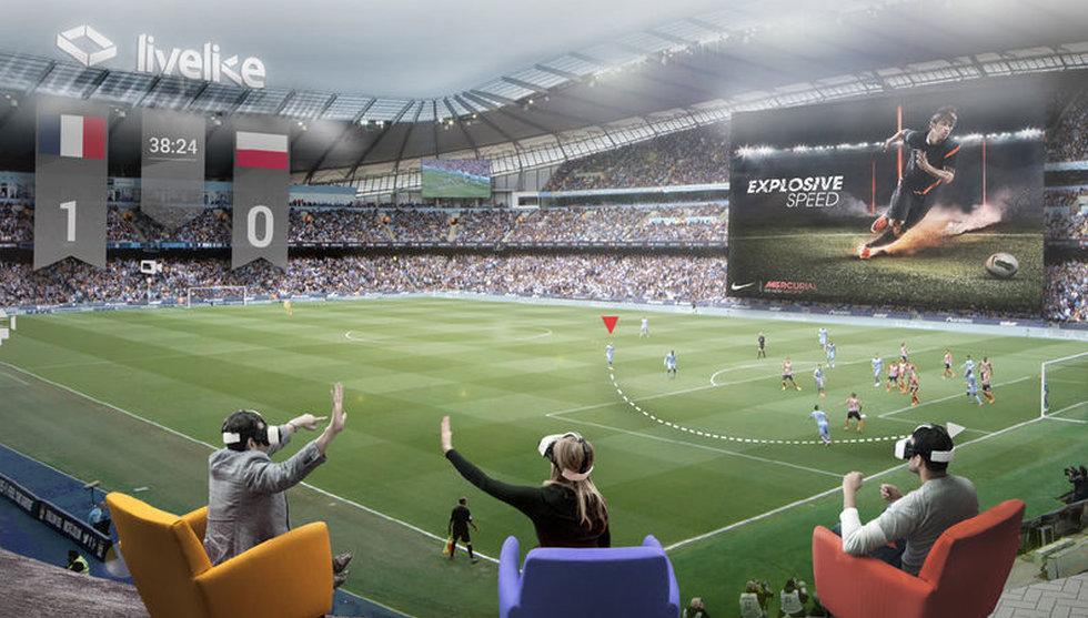 Snart kan du se fotboll i virtual reality - första lag ut Manchester