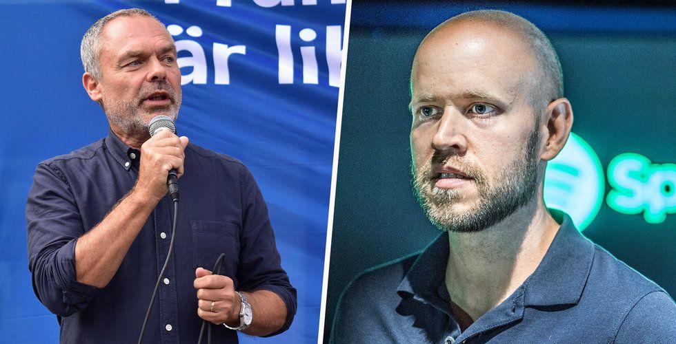 """Jan Björklund i partiledarutfrågningen: """"Spotify är ett av våra mest framgångsrika företag i modern tid"""""""