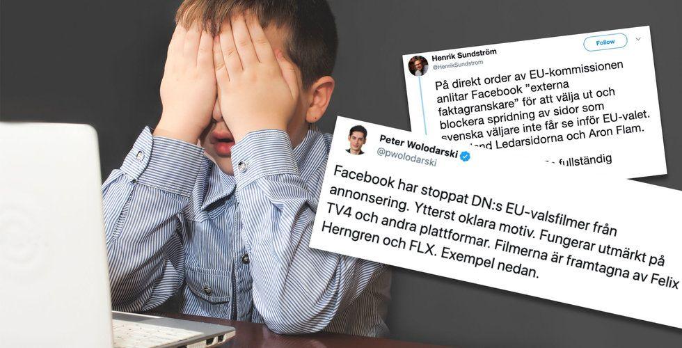 Nej, Facebook censurerar inte politiska annonser – det är du som inte har läst reglerna